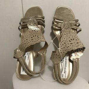 Covington Gold Sandals Size 11
